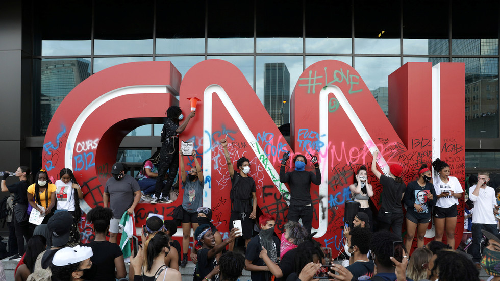 CNN blames 'RUSSIA, RUSSIA, RUSSIA' for George Floyd riots because they 'Can't blame China' - Trump