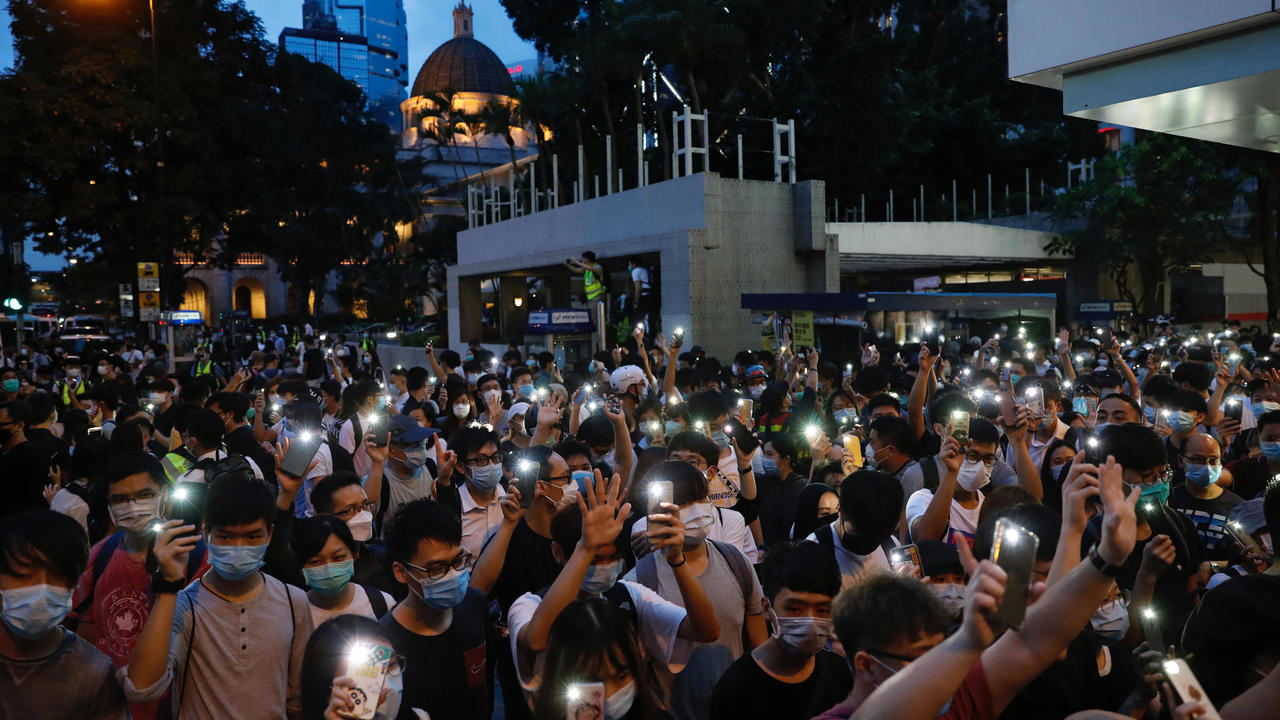 Hong Kong marks 1st anniversary of protests against China's security laws
