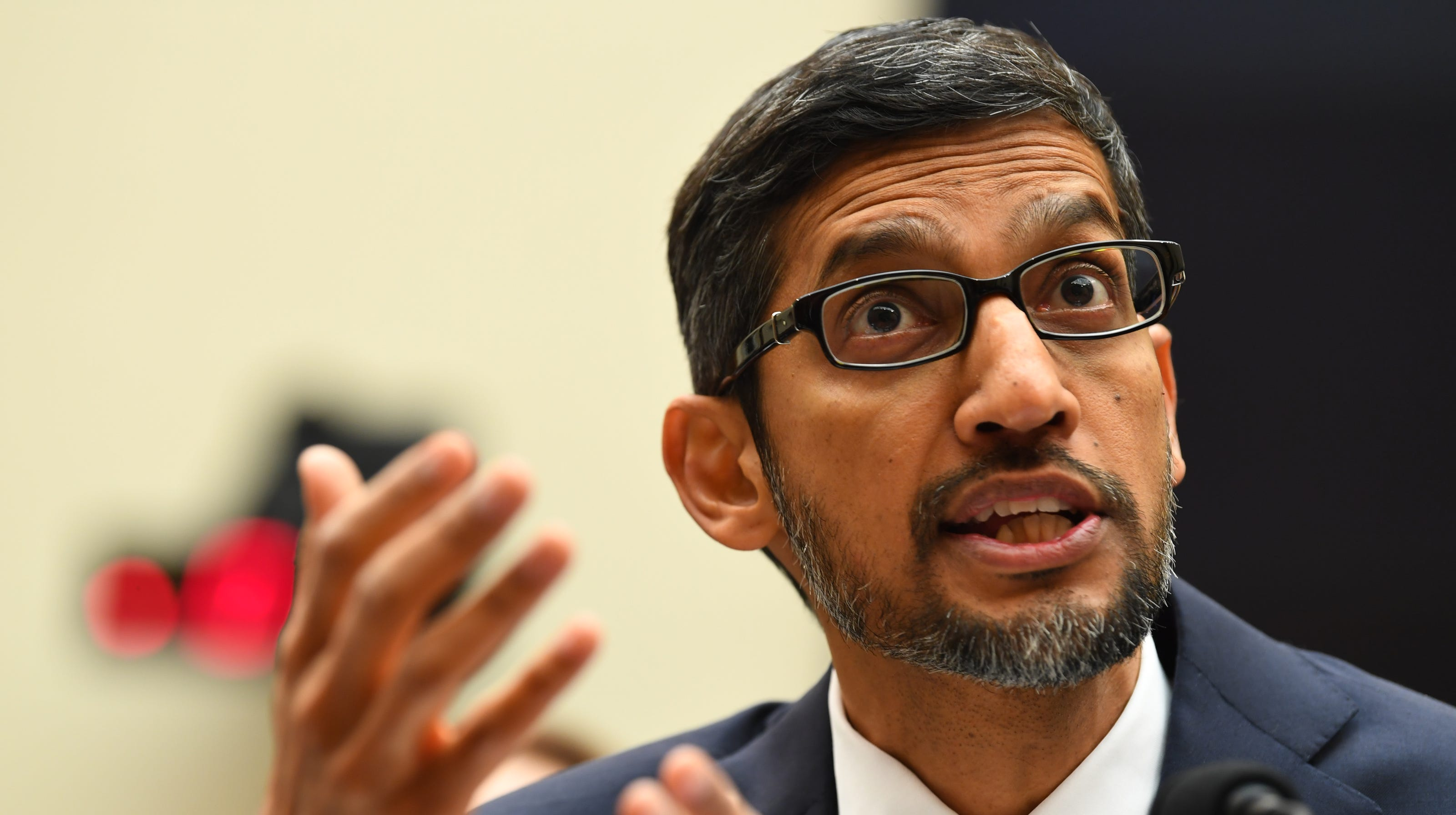 'Offensive and embarrassing': Senators struggle to pronounce Google CEO Sundar Pichai's name correctly