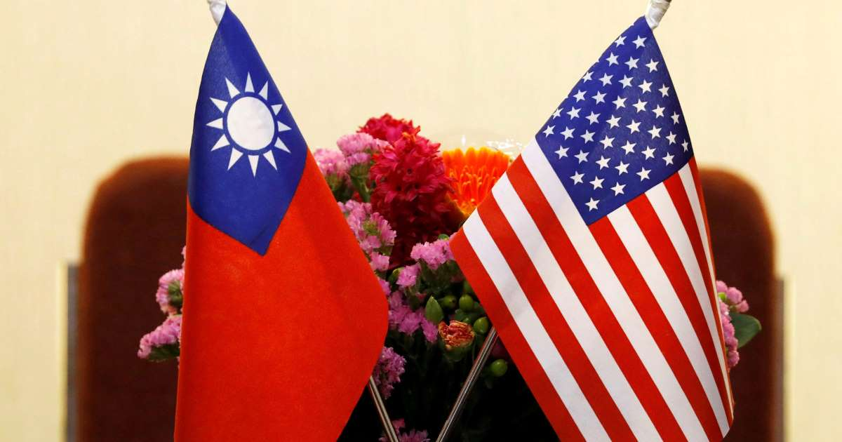 Taiwan says unnamed U.S. official is visiting, cannot give details